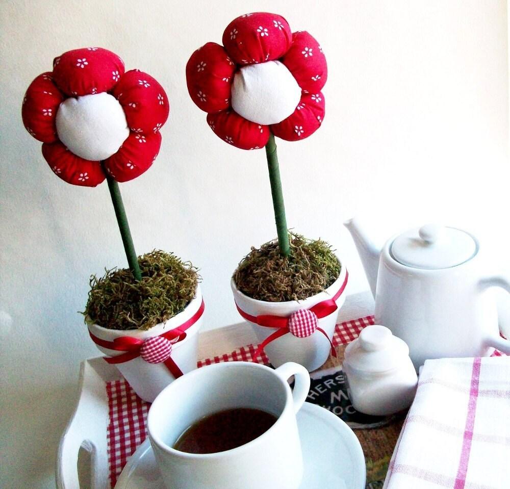 Plush Flower Pot