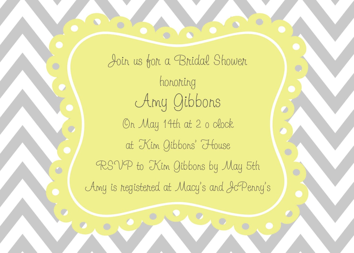 Wedding Shower Gift Card Phrases : Request a custom order and have something made just for you.