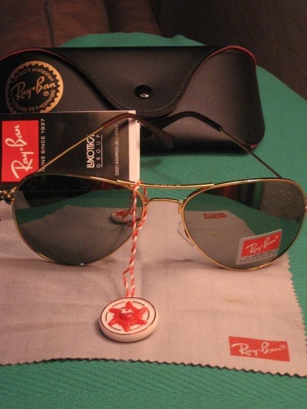 ray ban aviators mirrored lenses. Ray Ban AVIATOR Sunglasses RB