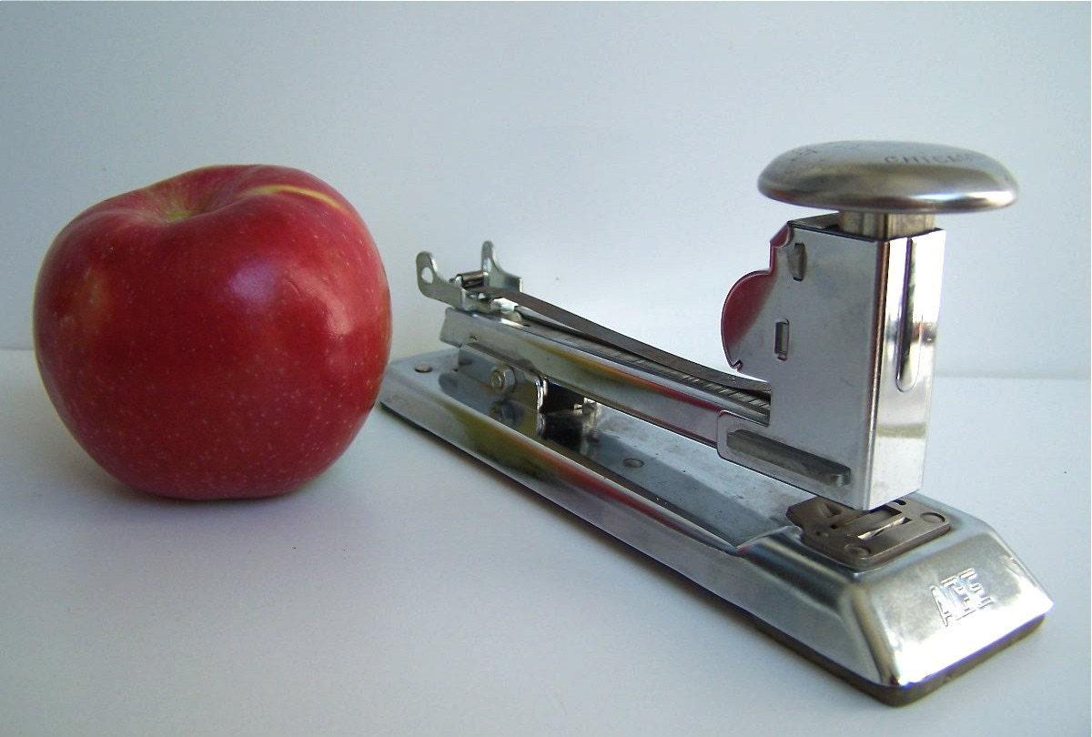 Vintage Pilot Stapler from ACE Fastener Co