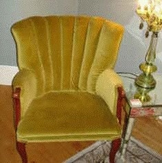 Vintage Shell back Chair