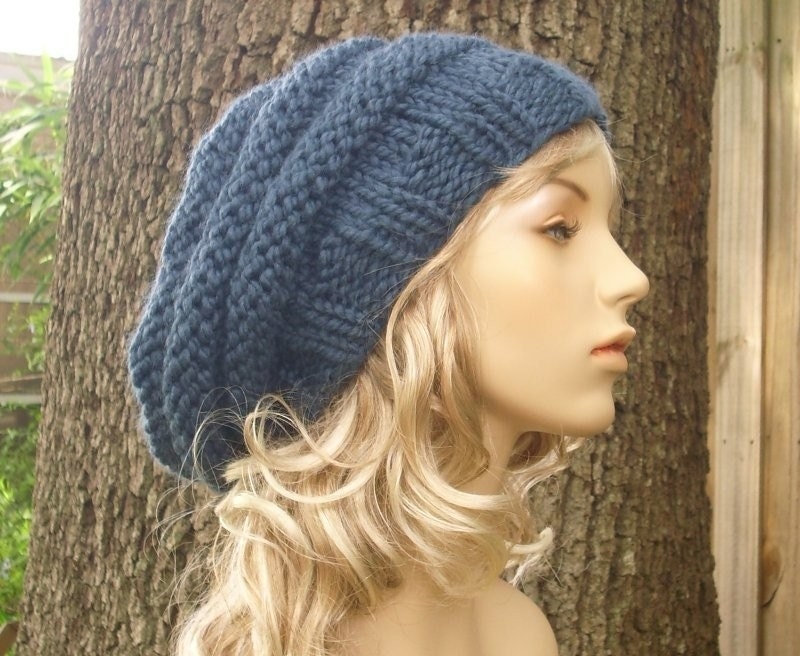 Beehive Knitting Patterns : PDF Knitting Pattern for The Beehive Beret Hat Free by pixiebell