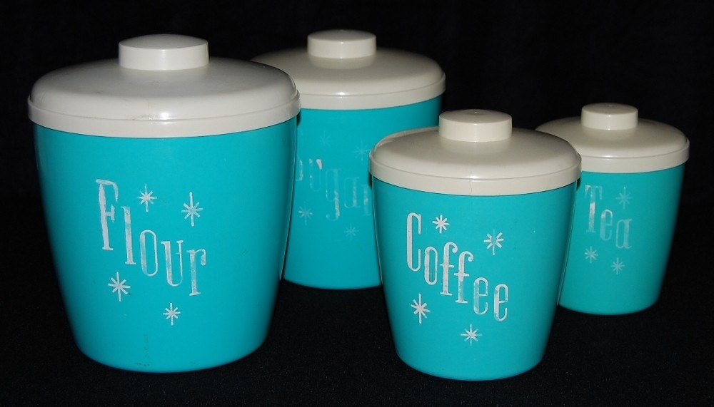 Mom's Kitchen Cannister Four-Piece Set