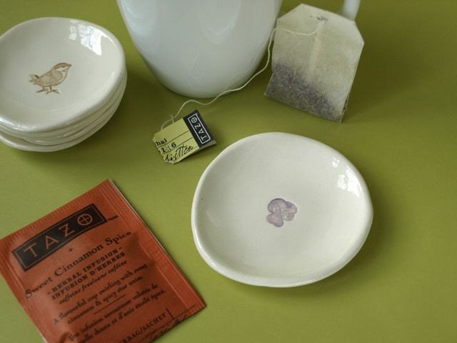 Ceramic Dish for Your Tea bag