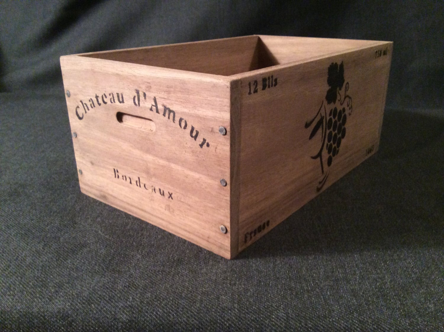 Unavailable listing on etsy for Small wine crates