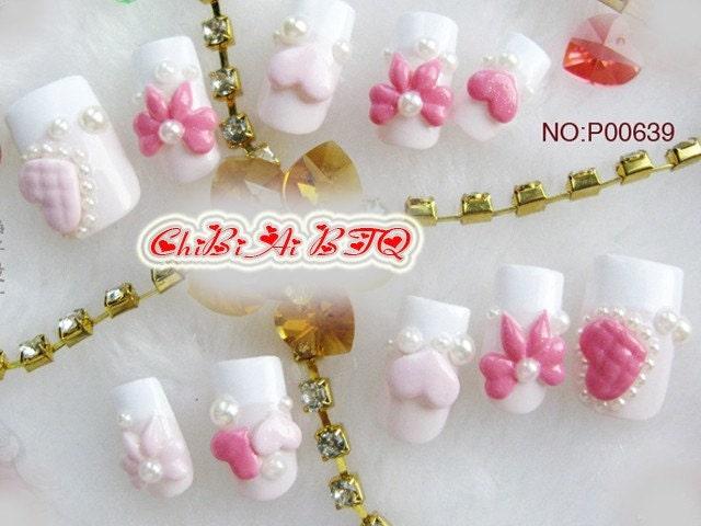 Sweetie Heart Nail Art Set (P00639)