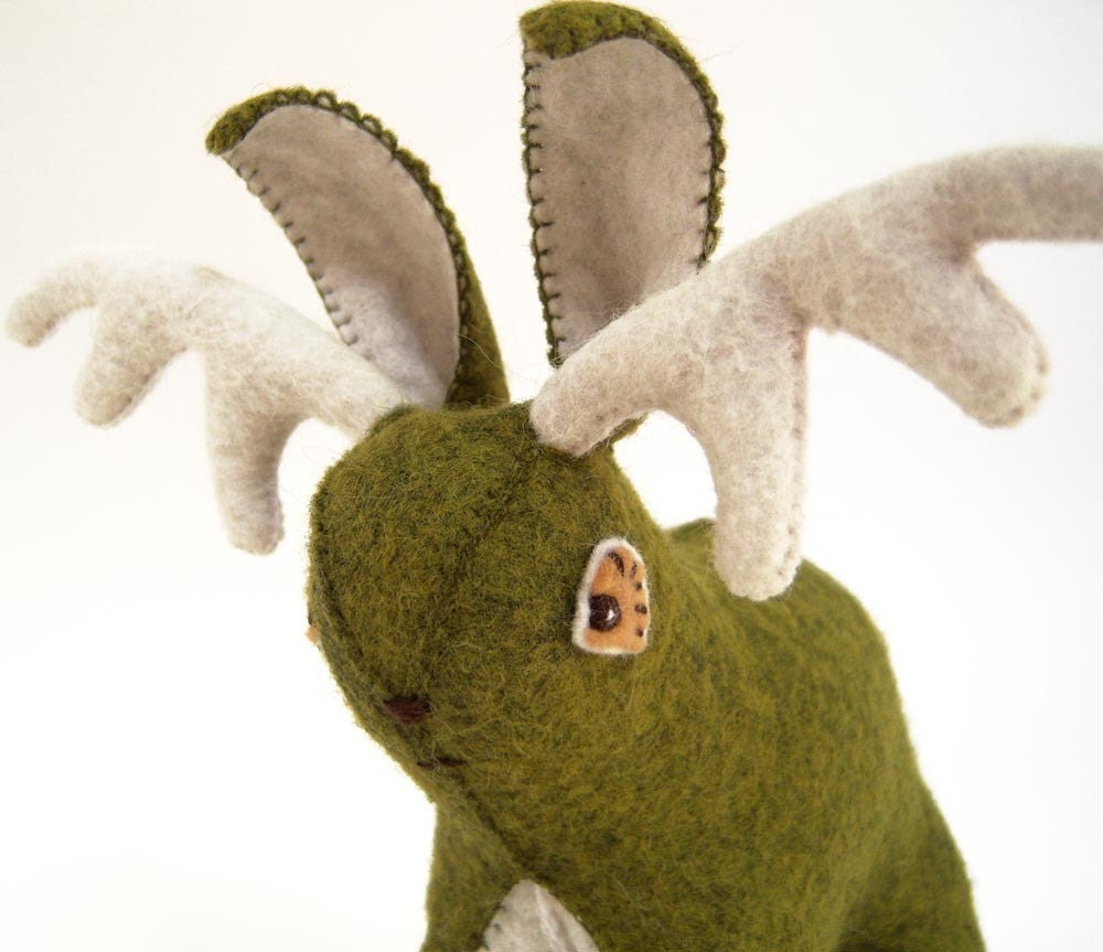 Leaf the Green Jackalope