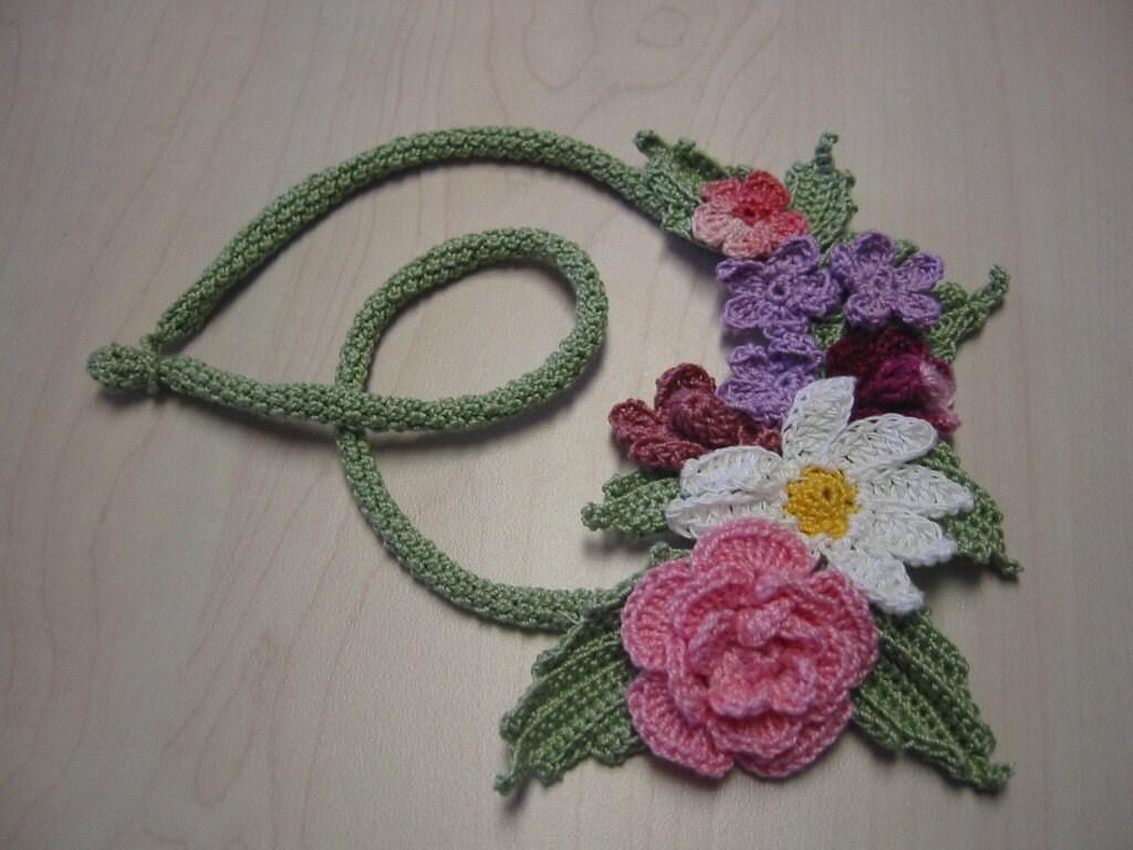 Irish Filigree Crochet Necklace Free Pattern : IRISH CROCHET JEWELERY - Crochet ? Learn How to Crochet