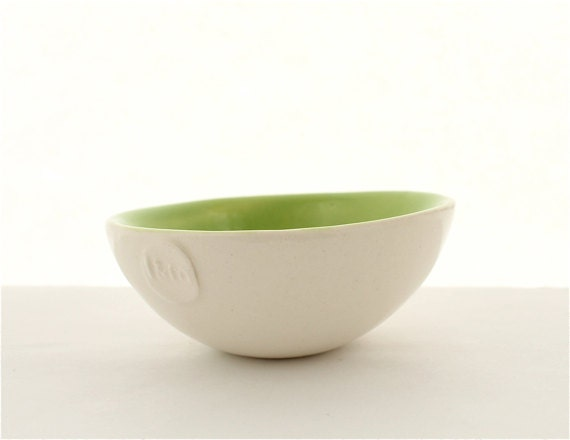 Vibrant Prep Bowl in Green - LandMstudio