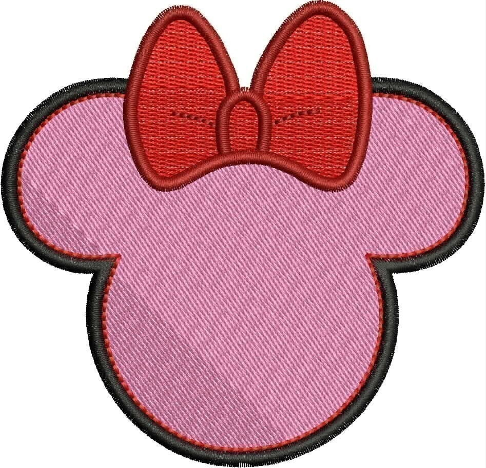 Mickey mouse ears pattern patterns gallery for Minnie mouse ear template