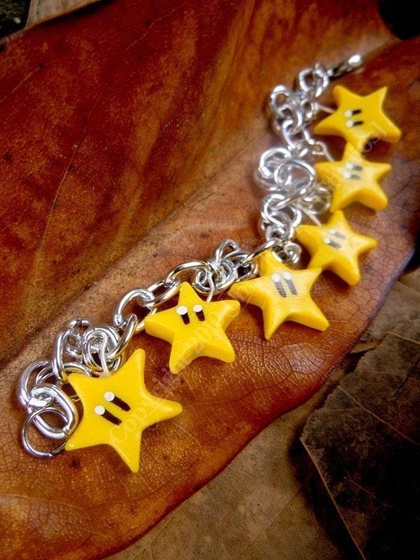 Invisibility charm bracelet