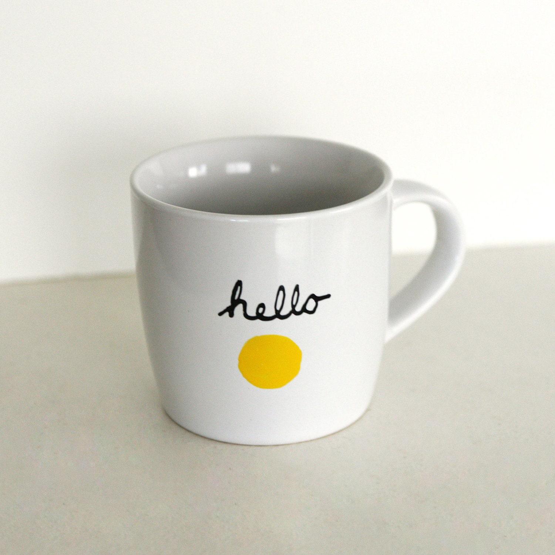 Hello Sunshine Mug - OhLeanderShop