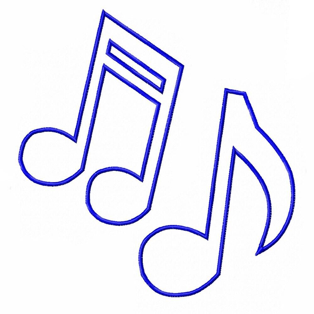 Breathtaking image regarding printable music notes