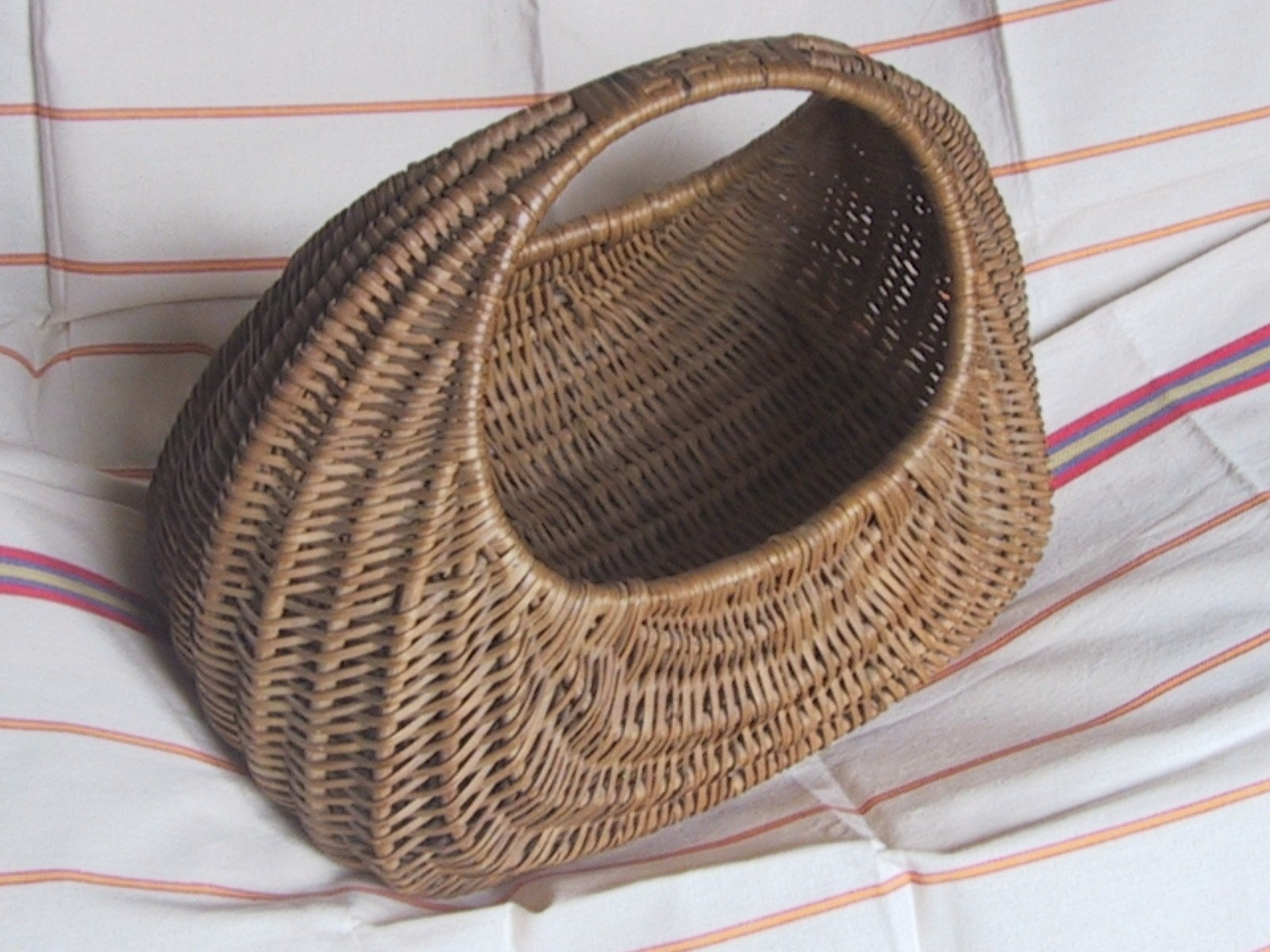 Vintage Gondola Shopping Basket 1960s By Vintagemaison On Etsy