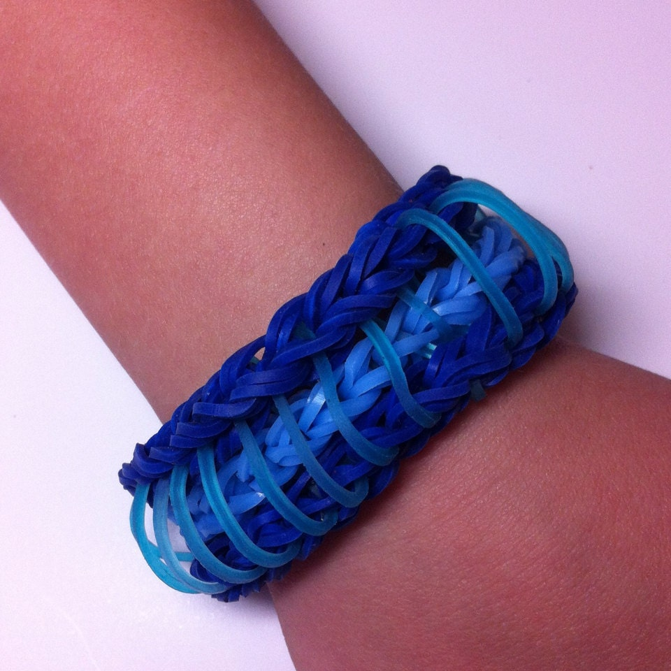 Sailors Pinstripe Bracelet. Rainbow Loom Bracelet. by ...