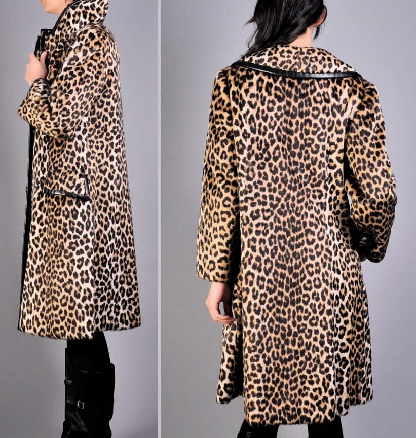 Etsy Leopard coat - $188
