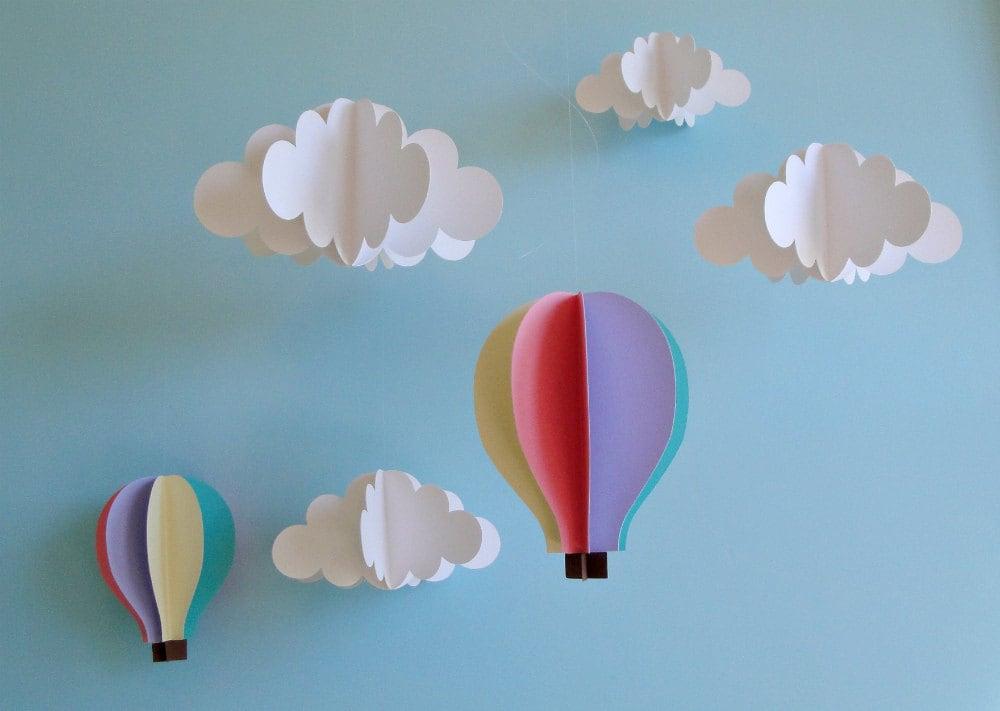 Подвесные облака своими руками 39