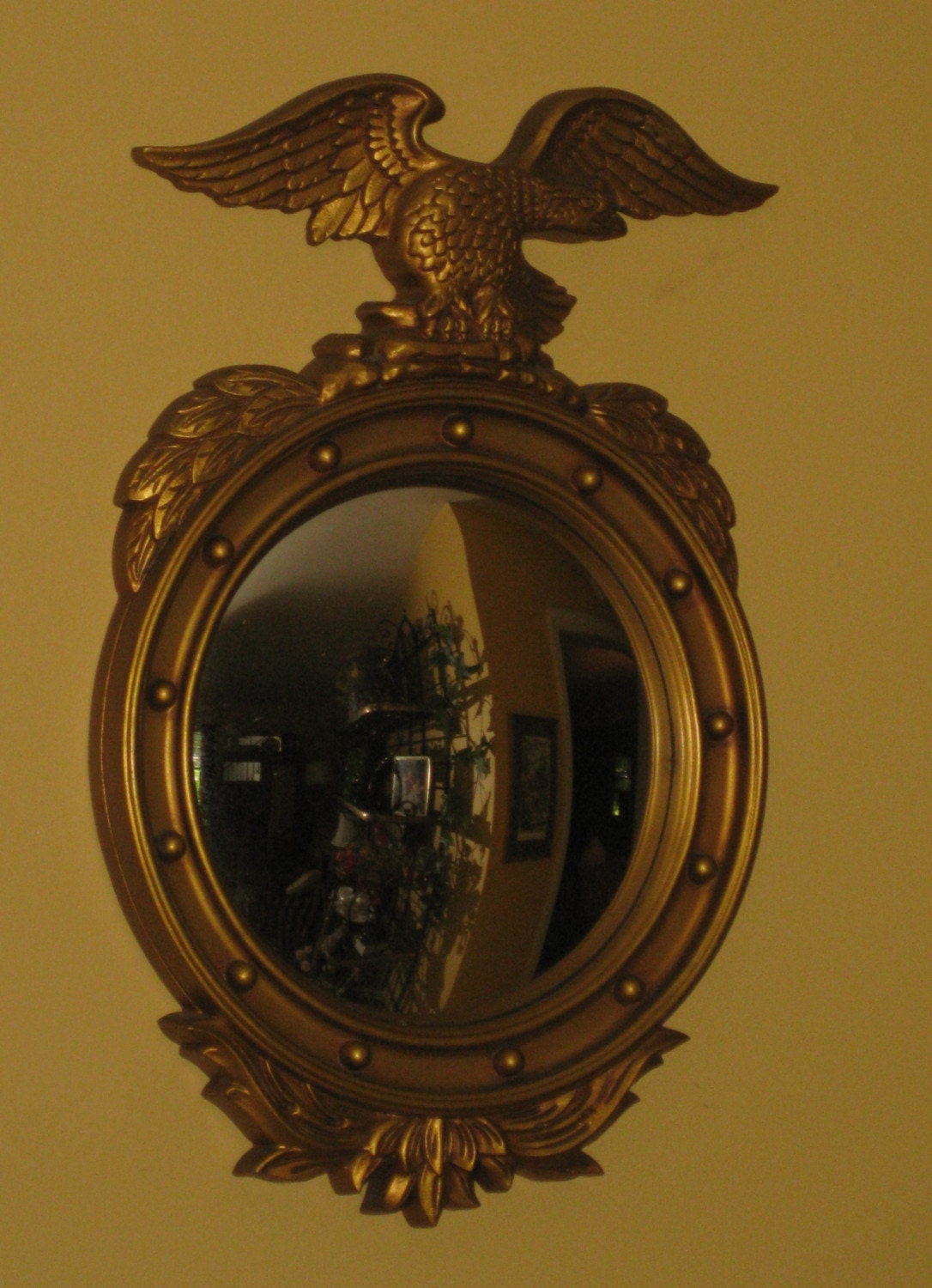 Federal Convex Eagle Bullseye Mirror