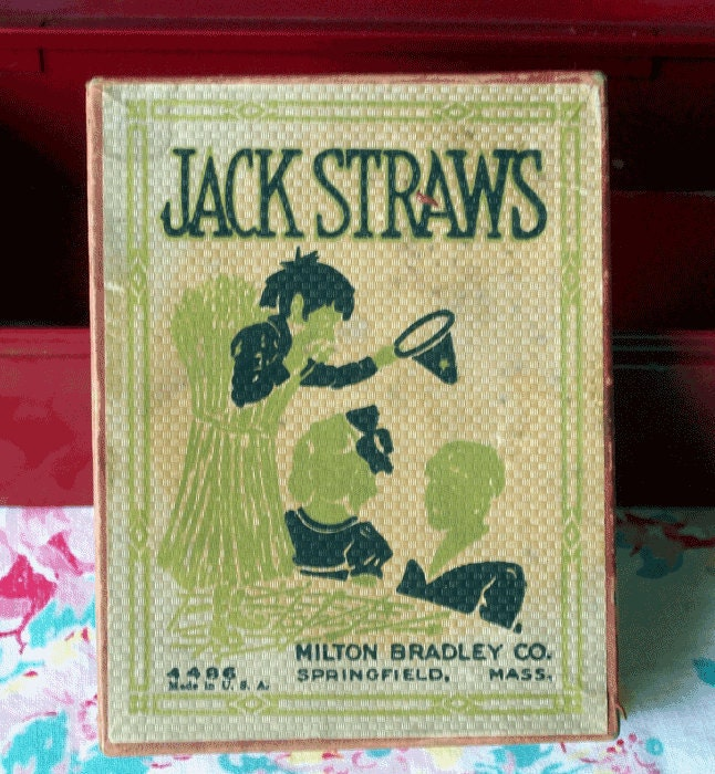 Identify game jack straws pieces of a dream