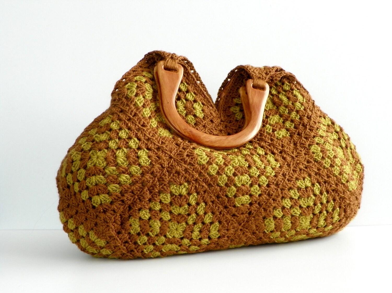 NzLbags Новый - Летняя сумка сумка афганской вязание крючком, сумки - Сумка Nr-0185