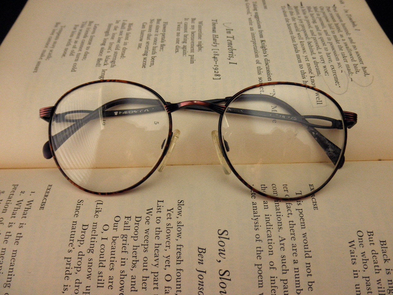 Wire Eyeglass Frame : vintage Neostyle wire rim eyeglass frames designer by ...