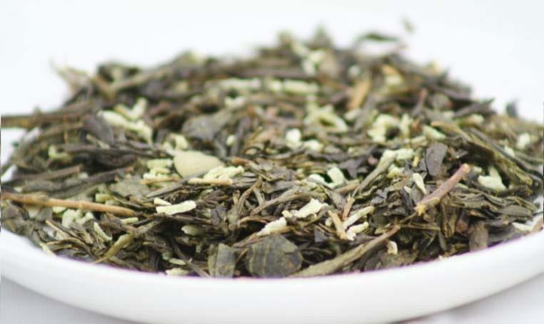 Almond Cookies - Green Tea - 4 oz Tin