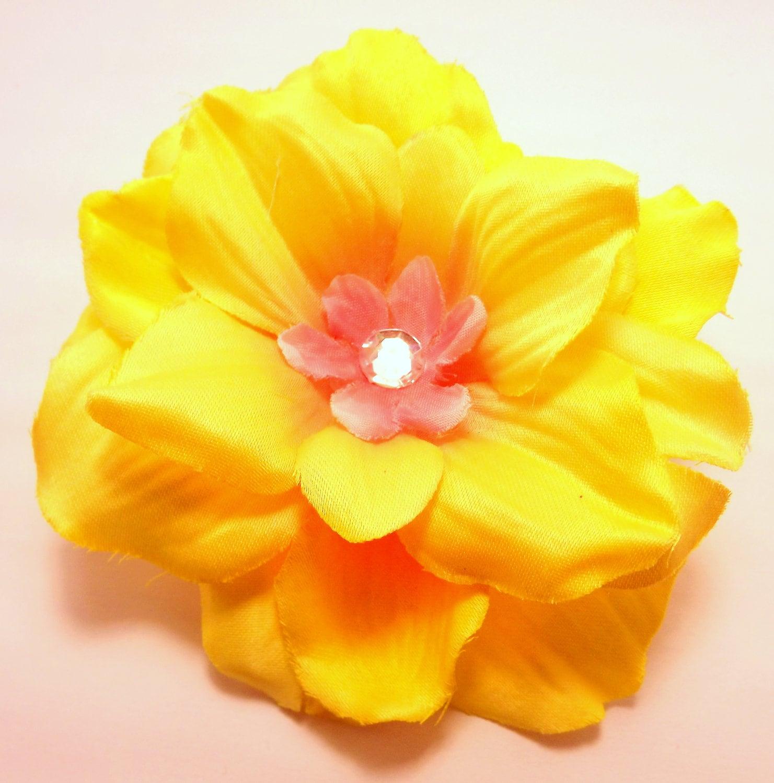 Fluttershy Inspired Hair Flower