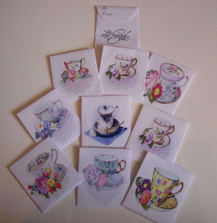 Friendship Tea Envelopes