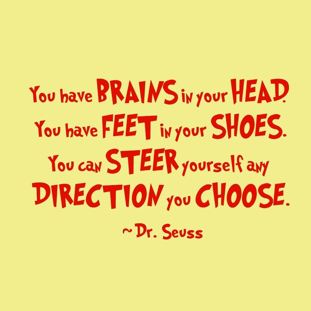 Dr Seuss Quote Friends: Drifts Into Randomness: Happy Birthday Dr Seuss {a Day Late}