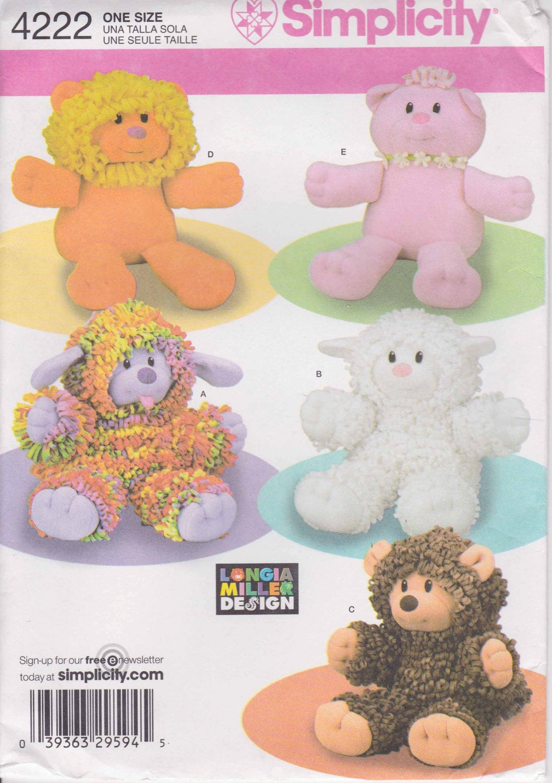 Stuffed Dinosaur Pattern - Dinosaur Softie Pattern - Angel