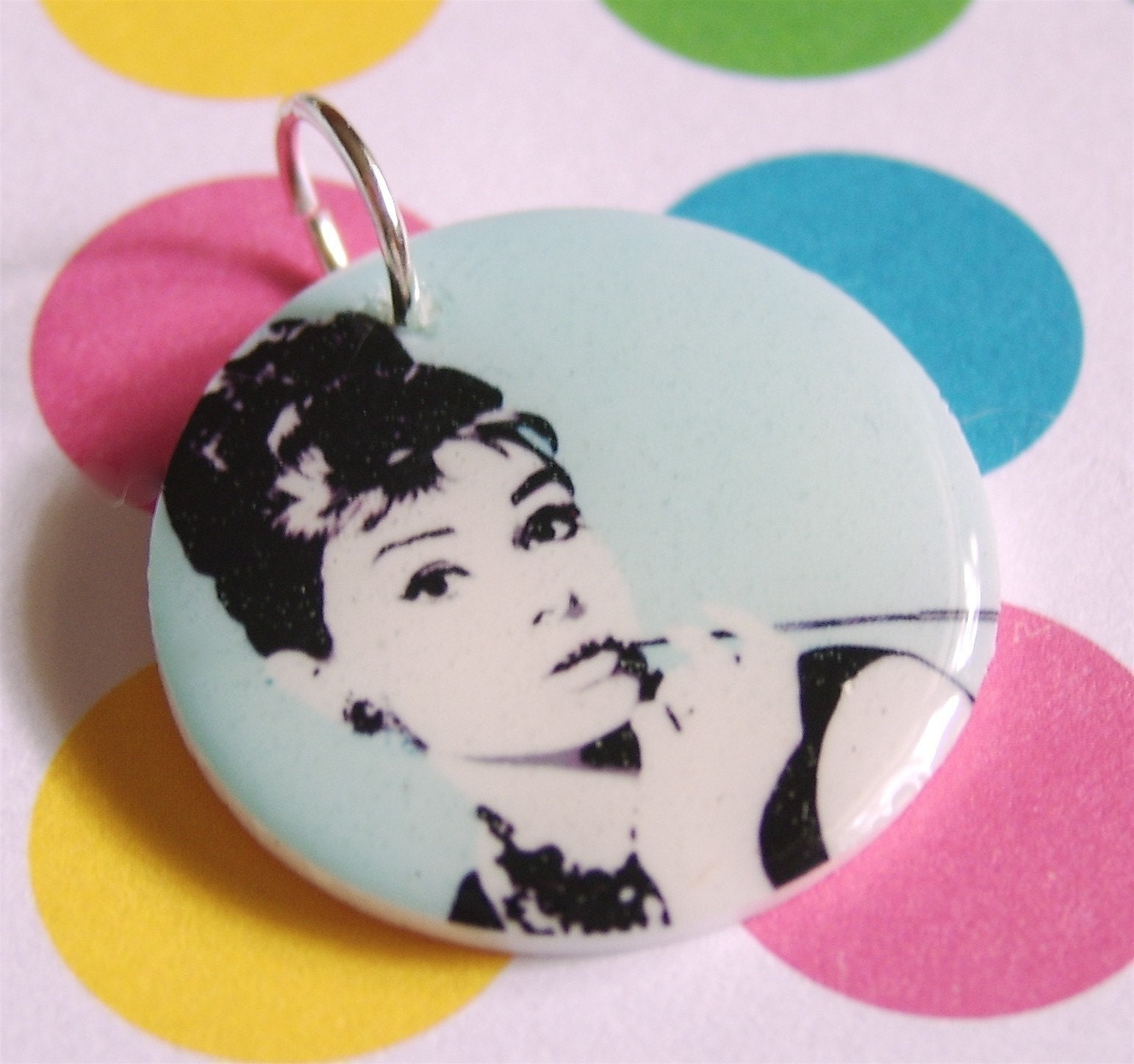 Audrey Hepburn Mini Pendant
