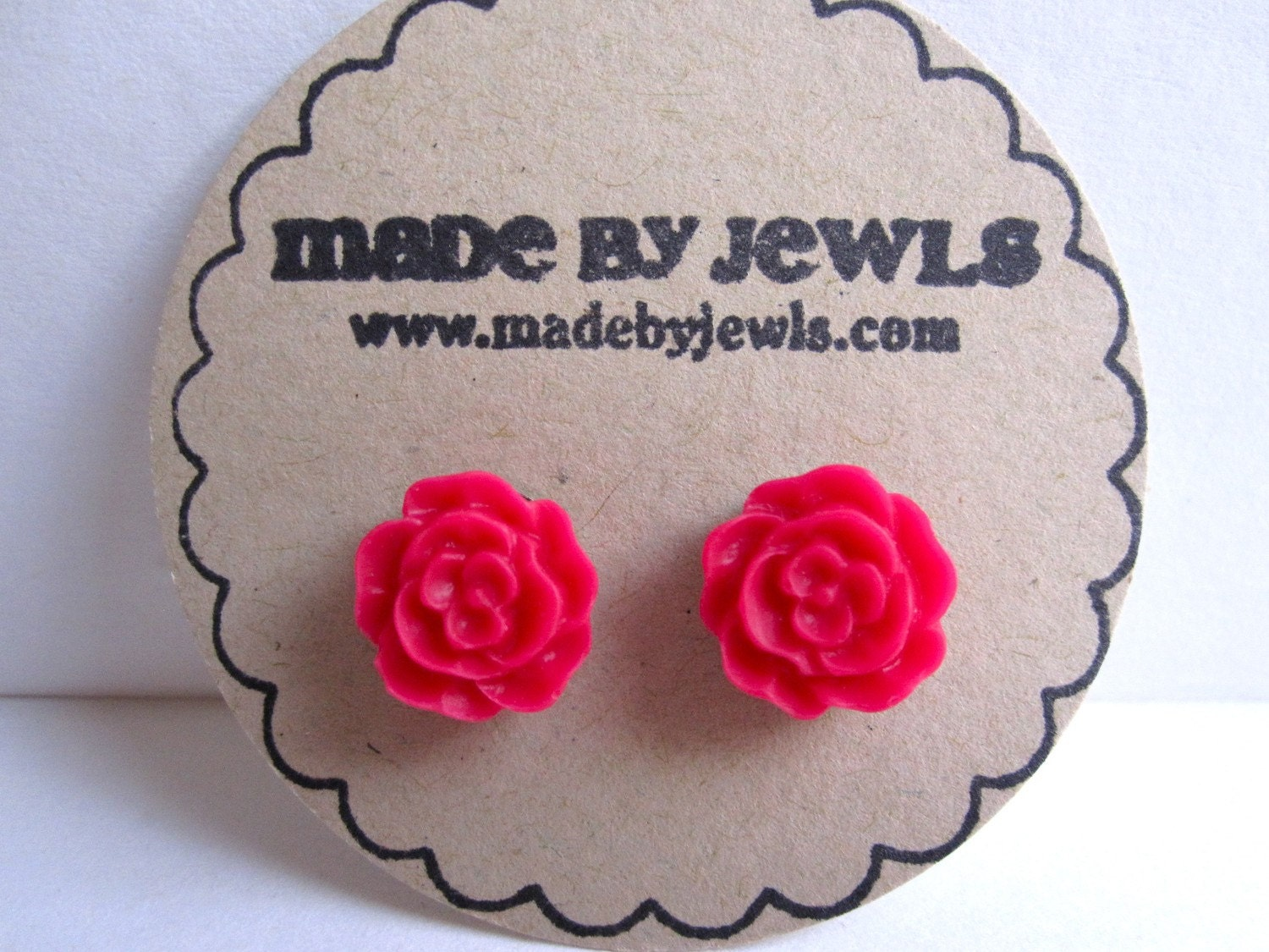 Be Mine Rose Earrings