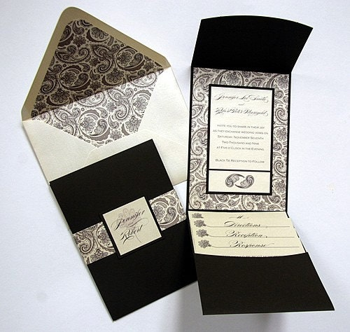 The Michelle Wedding Invitation (Sample)