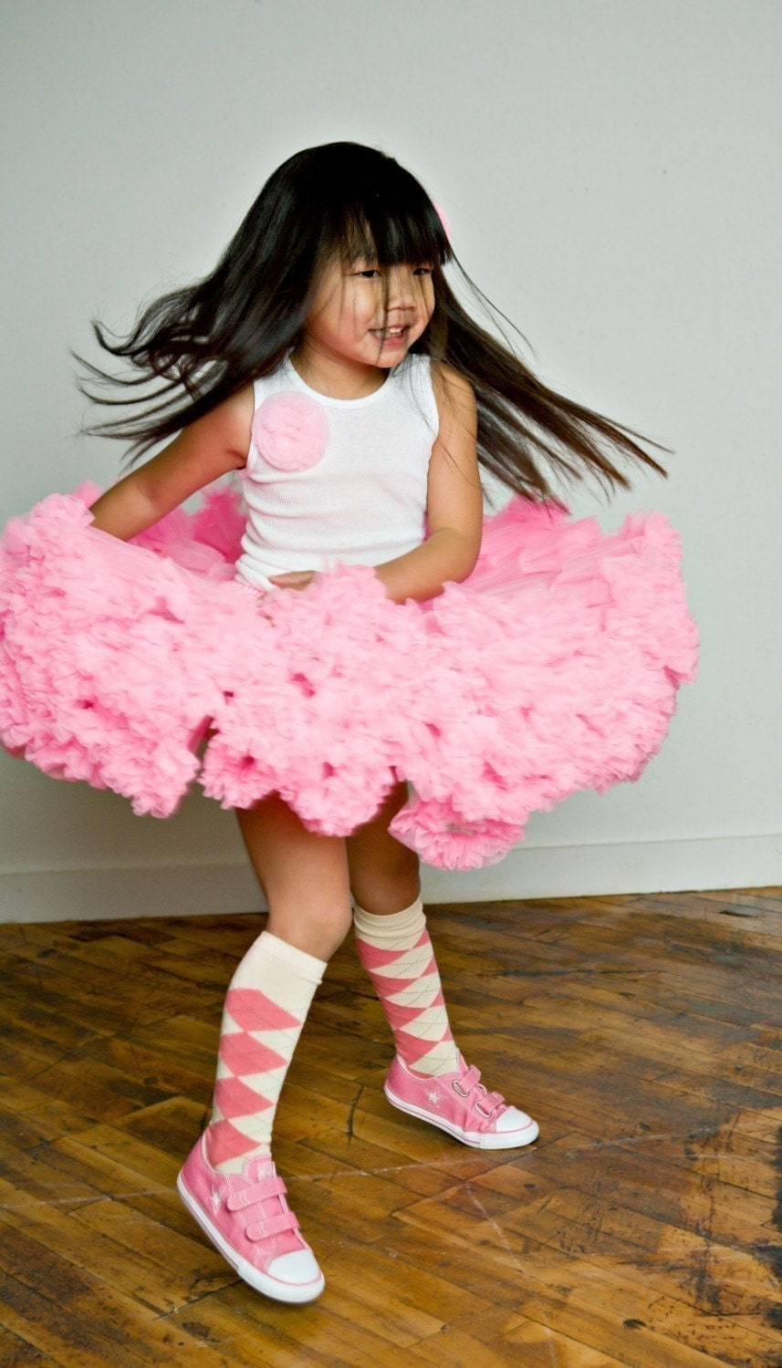 Candy Pink Sweetheart Pettiskirts by Dreamspun