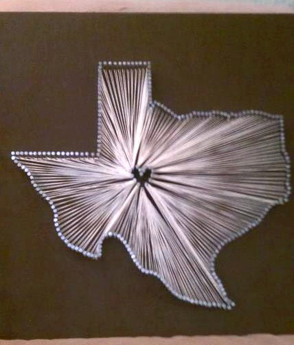 Nail And String State Art Pictures to Pin on Pinterest - PinsDaddy
