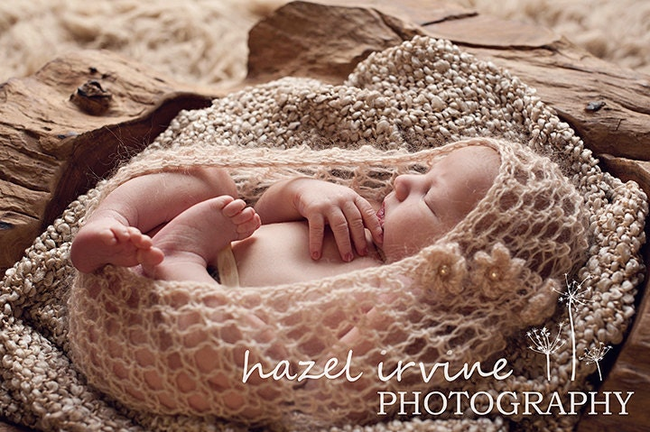 Knitting Photography Props : Baby knitting pattern newborn photography props by