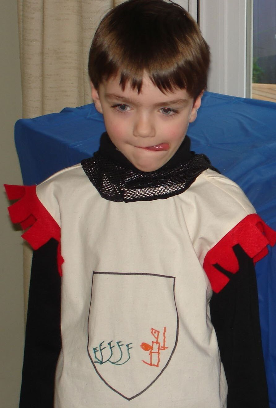 Knight tunic  - Design your own coat of arms