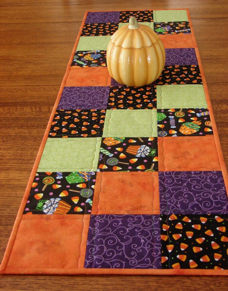 Halloween Table Runner By Susiquilts On Etsy