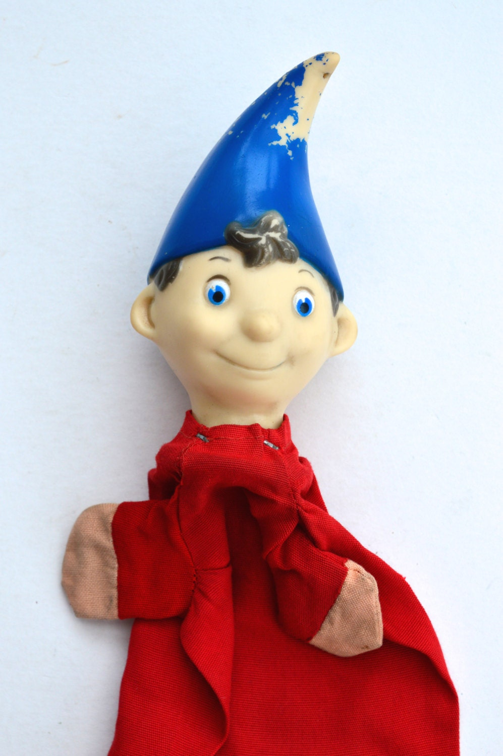 1960s Chad Valley Noddy Glove Puppet Vintage Childrens Toy Retro Childrens Toy Childrens Television Enid Blyton Big Ears Toyland