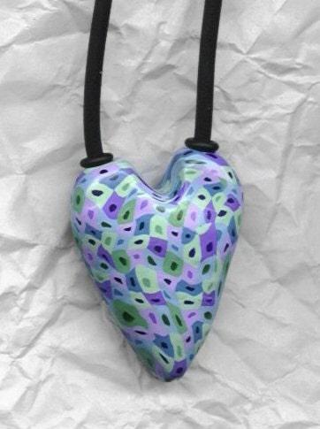 Long Heart Pendant