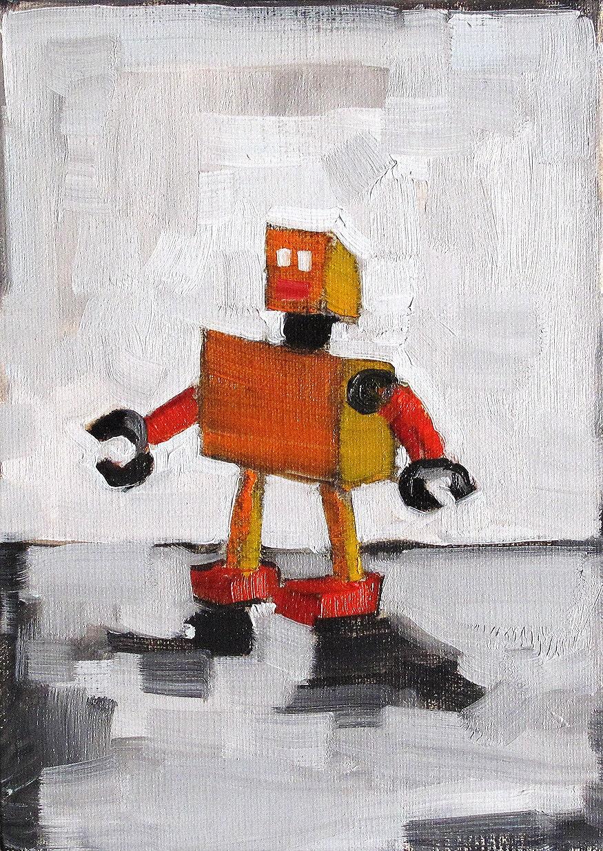Robot Still Life Painting