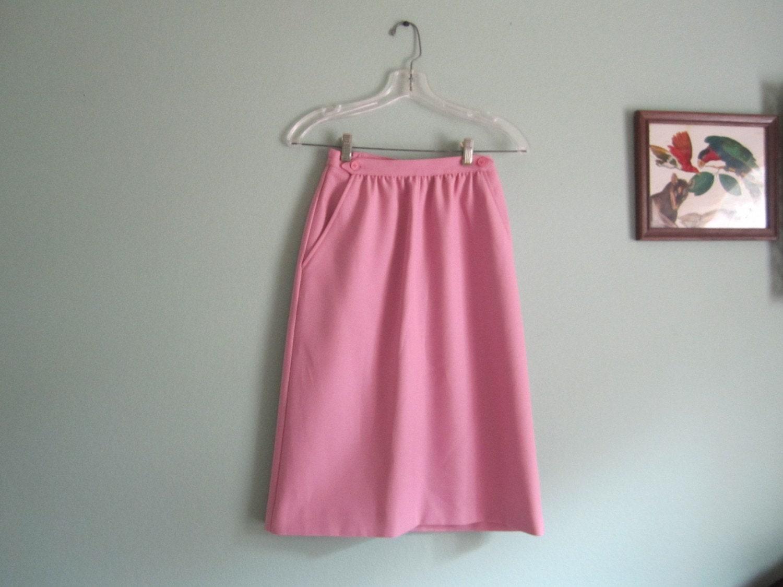 Pale pinky lavander high waist pencil skirt XS