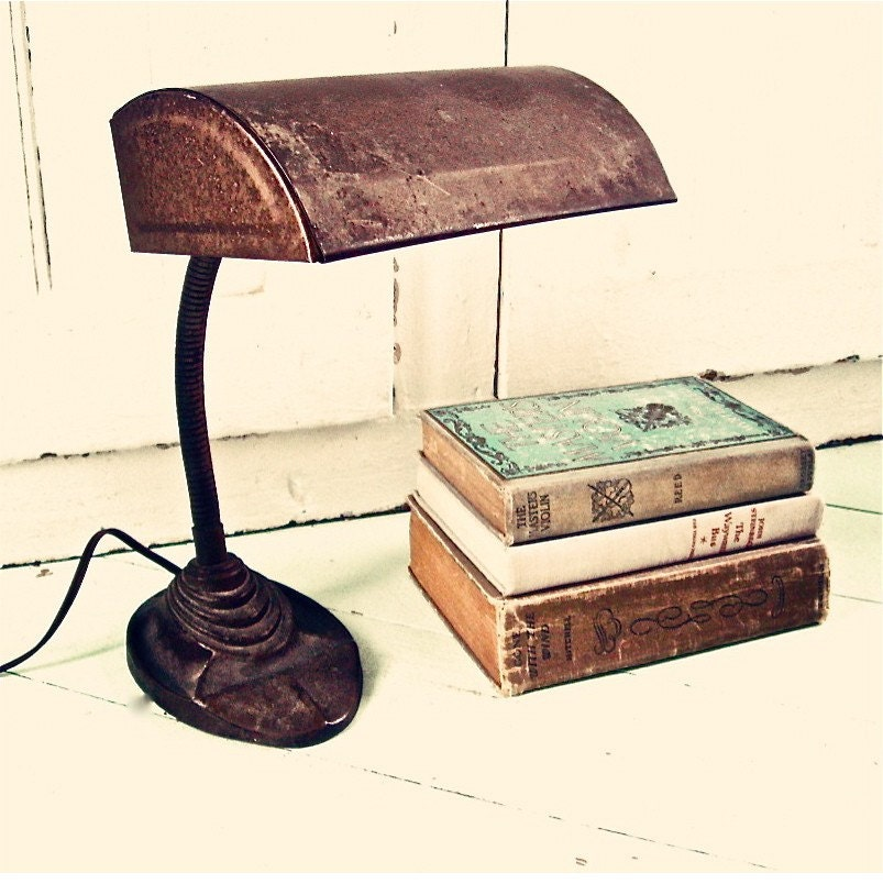 An Industrial Desk Lamp
