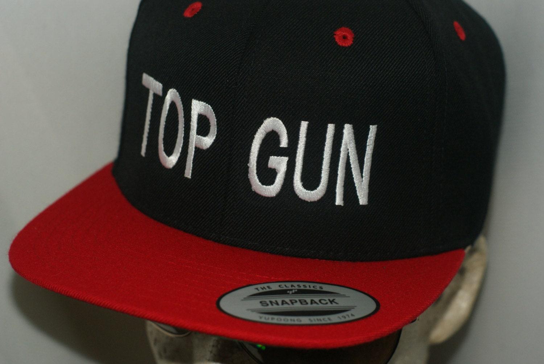 Top Gun Workaholics Top Gun Hat Flat Bill ...
