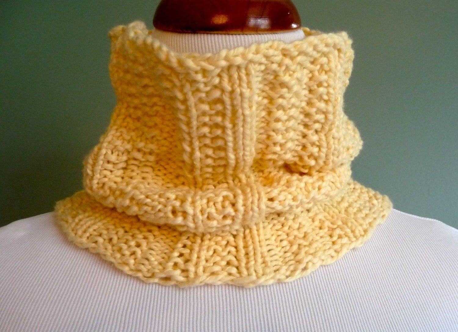 Buttercup - Yellow Cotton Neck Warmer