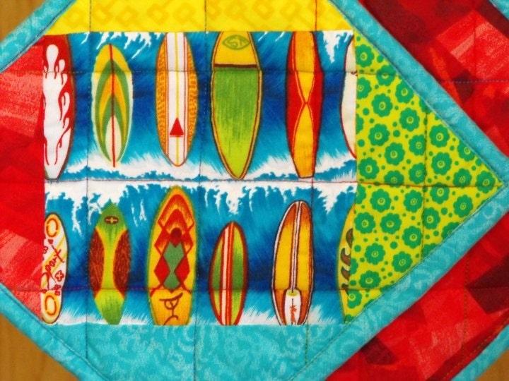 Surf Board Pot Holders