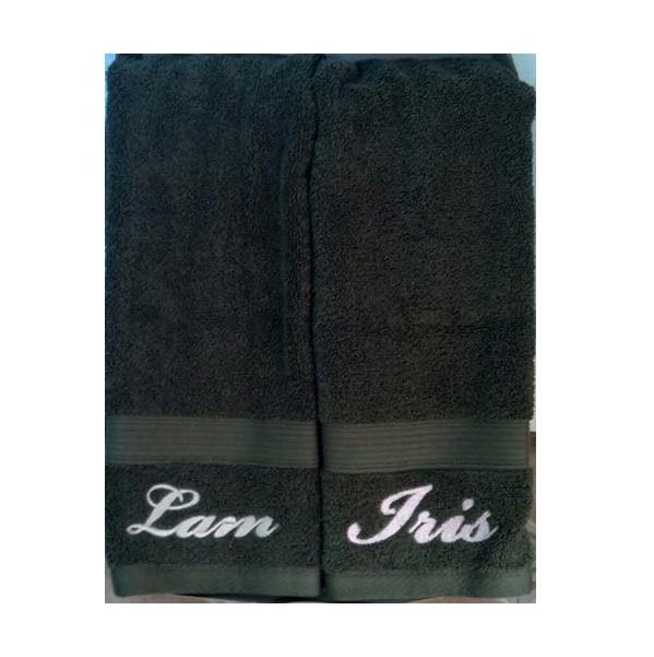 Items Similar To Personalized Name Embroidered Hand Towel