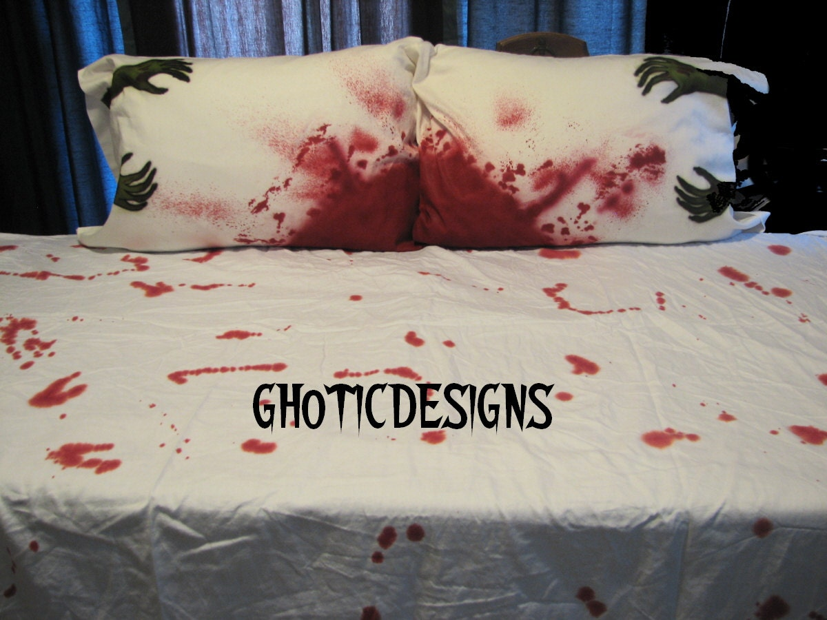 Popular items for zombie bedding on Etsy