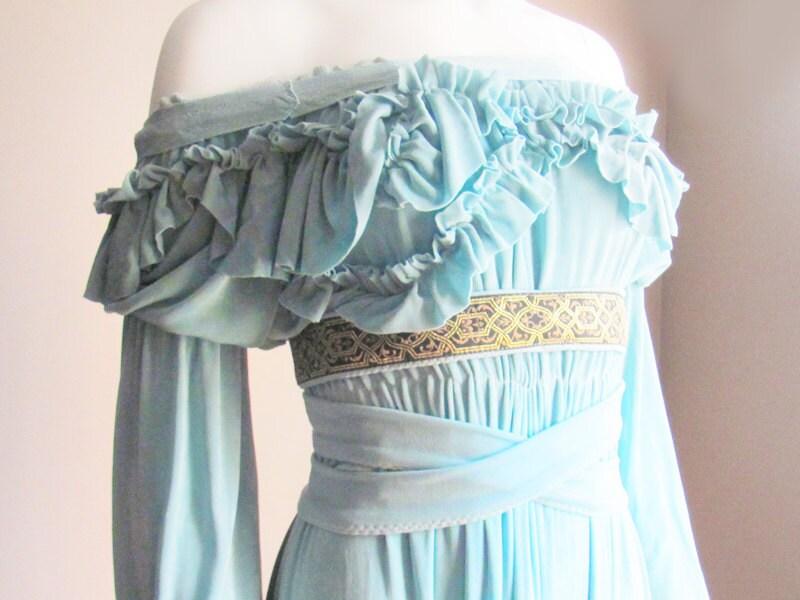 Custom Wedding Gown TEAL or BLACK Custom Wedding Dress