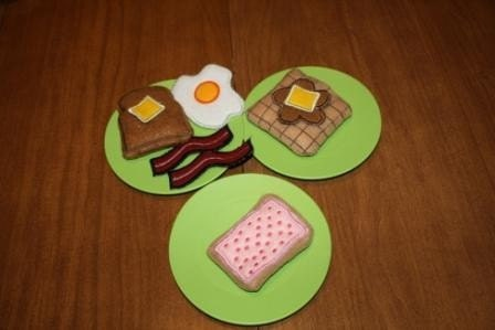 Felt Play Food - Yummy Breakfast Set
